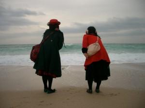 Les Kokusyoku Sumire à la mer