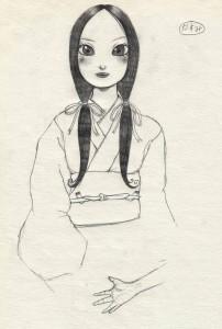Kasumi, dans un style moins réaliste