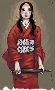 Kasumi, plus réaliste et en couleurs
