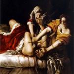 Artemisia Gentileschi - Giuditta che decapita Oloferne