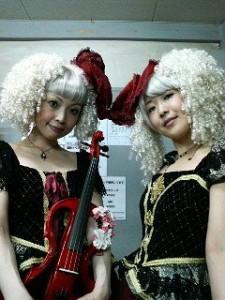 Yuka et Sachi des Kokusyoku Sumire