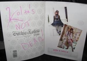 Lolita's NOT DEAD! sur un Gothic&Lolita Bible