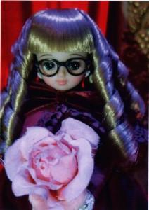 Licca Chan customizée en Yumeko, détail
