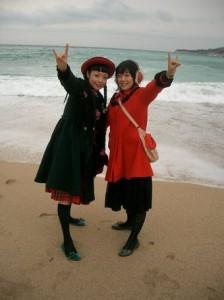 Yuka et Sachi à Cassis