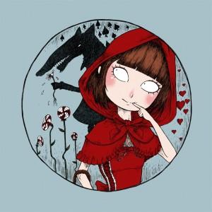 Badge du Petit Chaperon Rouge