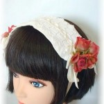 Headdress Silfide Rosa