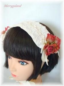 Headdress Silfide Rosa