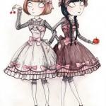 Blancheneige et Rougerose