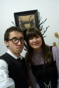 Selfie avec une lolita le 7 février