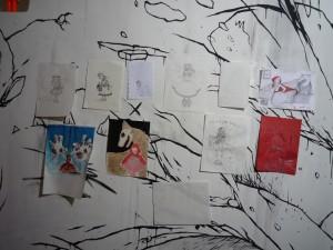 Concours de dessins de la tea party Petit Chaperon Rouge