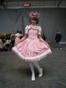 Lolita à Chibi Japan Expo Sud