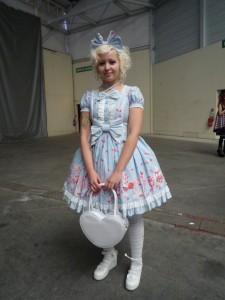 Sarah (Mademoiselle Coiffe) en Angelic Pretty à Chibi Japan Expo Sud