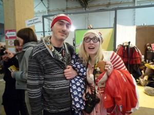 Dominique et Mélyssa à Chibi Japan Expo Sud