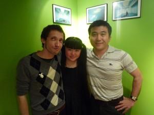 François, Fumiko et Monsieur Iwata