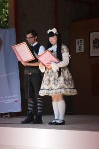 Fumiko et François lisant leur texte