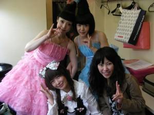 les Kokusyoku Sumire, Hata Aki et Luli