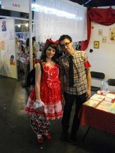 François et Laura à Japan Expo