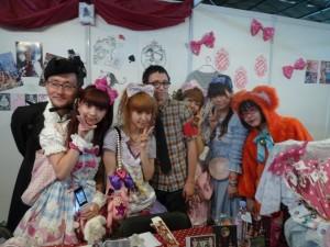 Japonais du milieu Lolita à Japan Epo