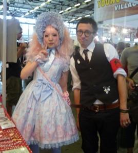François et Maki à Japan Expo