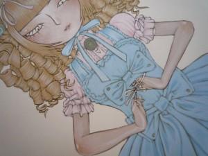4ème étape : vêtements (détail)
