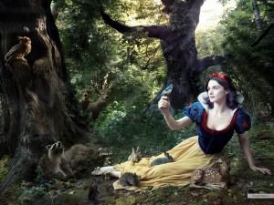 Wallpaper Rachel Weisz as Snow White