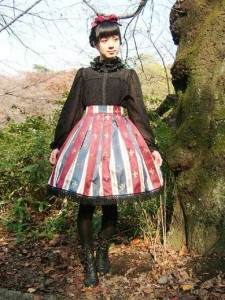 Dolce Piu Amabile :【百合の紋章スカート】