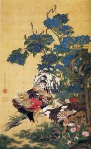 Ajisaisōkeizu by Itō Jakuchū
