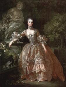 Madame de Pompadour (1759) par François Boucher