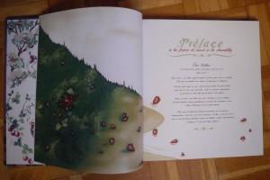 Exemplaire d'auteur de Gothic Lolita : préface