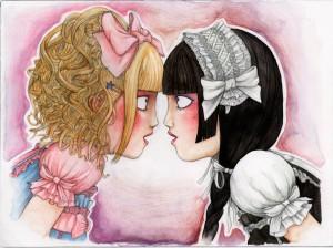 Rougerose et Blancheneige