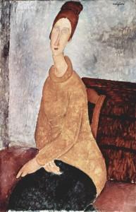 Amedeo Modigliani - Le pull jaune