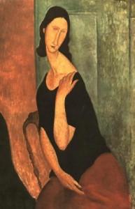 Amedeo Modigliani - Portrait de Jeanne Hebuterne 1919