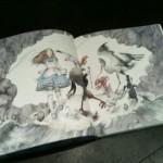 Vue d'une autre double page de Alice