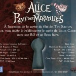 Flyer Soleil Alice en Comics et Alice en Beau Livre