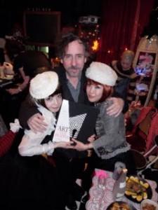 Tim Burton et les Kokusyoku Sumire