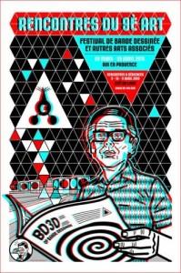 Affiche Festival BD d'Aix-en-Provence 2010