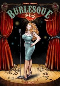 Burlesque GRRRL Couv Typo