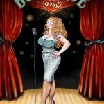 Burlesque GRRRL Couv Typo Old