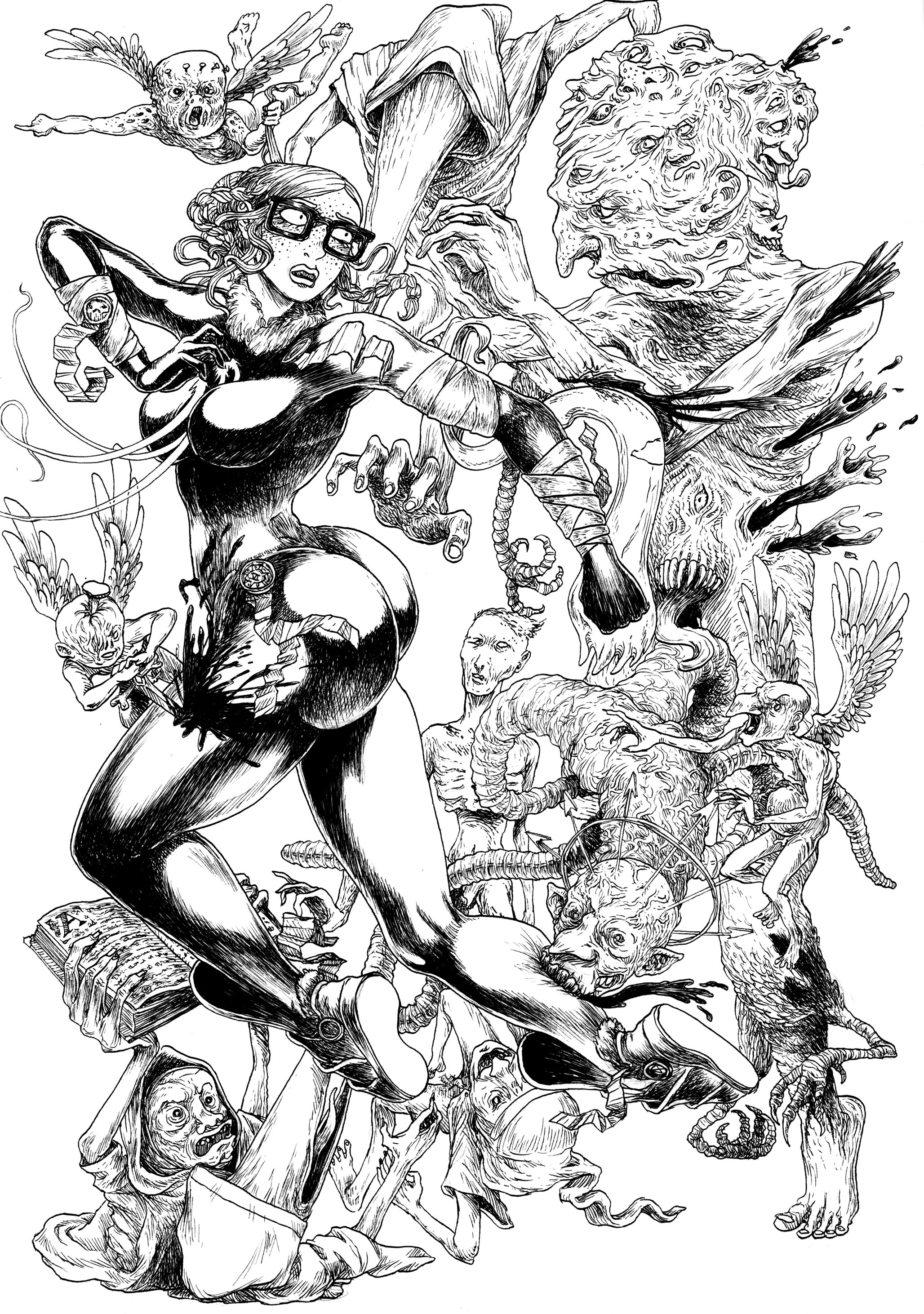 LESDESTRUCTEURS-Shauna et les monstres