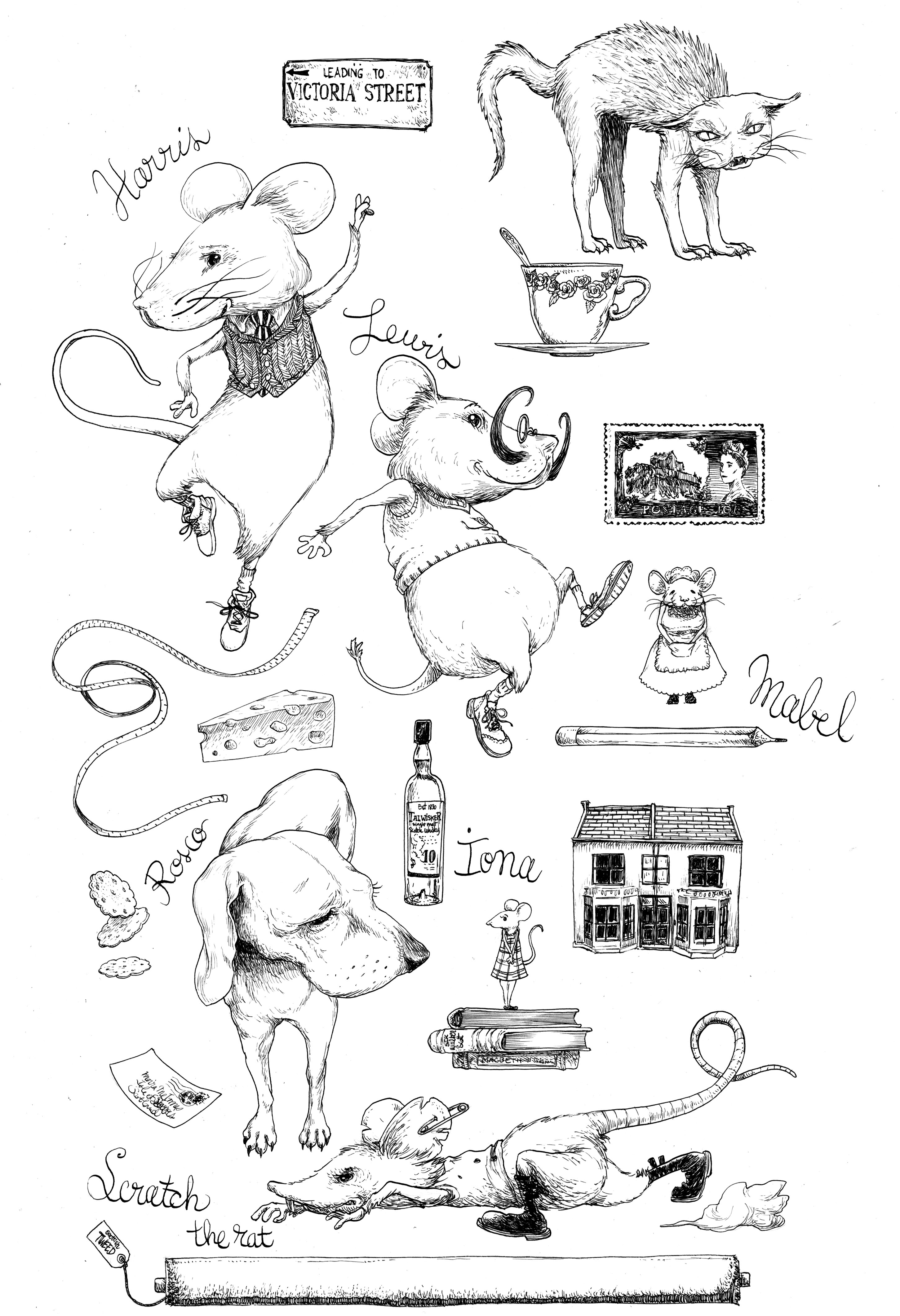 character-design-aweemousetail